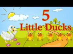 Five Little Ducks Went out one day Song Lyrics and Video