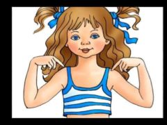 Body Parts Song For Kids Vocabulary learning Rhyme for Preschool