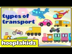 Transport Videos for Kids Means of transport