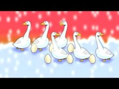 The Twelve Days Of Christmas Lyrics and Video Song for Kids