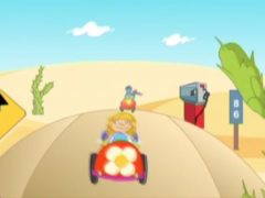 Little Red Wagon Song Lyrics and Video for Kids | Bouncing up and down in my little red wagon