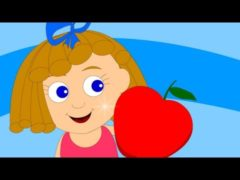 An apple a day Sends the doctor away Rhyme Lyrics and Video