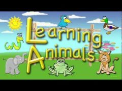 Learning Animals for Toddlers English   Wild and Domestic Animal Names Video