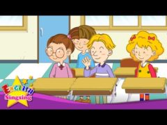 Good Morning How are you Song Lyrics for Kids with Free Animated Video