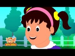 Little Polly Flinders Sat among the cinders Video and Lyrics Activities Animation