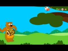 Chu Chu karti aayi chidiya Lyrics and Video | Free Hindi Nursery Rhymes Video Download for Kids | Children's Song Action | Baby Animation