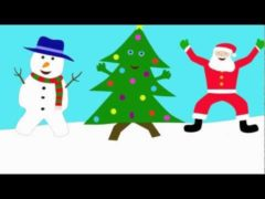 The Dancing Christmas Tree Song Video